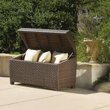 trendy storage boxes home design ideas and scheme of outdoor cushion storage box