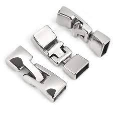 ซ อท ไหน 1 set stainless steel toggle clasps leather bracelet clasp licorice findings diy jewelry making handmade jewelry accessories ในประเทศไทย