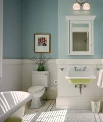 bathroom color ideas for painting. Bathroom Paint Color Ideas For Small Bathrooms Square White Porcelain  Console Vessel Sink Marble Tub Base Steel Table Brown Brick Wall Tile Bathroom Color Ideas For Painting