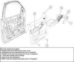 door handle parts diagram. 32 Ford Focus Door Parts Diagram 10 15 08 Explorer Panel Handle