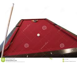 Setting Up A Pool Table Balls Set Up On Pool Table Stock Photography Image 38327022