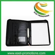 china zipper a4 a5 pu leather planner organizer agenda notebook china file holder pu leather notebook cover