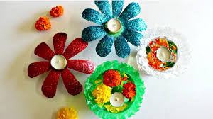 Decorated Plastic Bottles Diwali Decoration Idea Using Only 60 Plastic Bottles YouTube 9