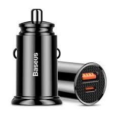 Автомобильное <b>зарядное устройство Baseus Circular</b> Plastic A+C ...