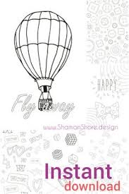 digital coloring book pdf 20 simple coloring pages instant