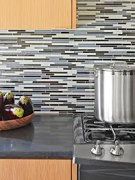 kitchen backsplash glass tile blue. Pretty Blue Palette Kitchen Backsplash Glass Tile A