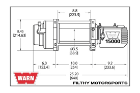 warn 47801 warn m15000 premium series 15 000 lb winch availability currently unavailable