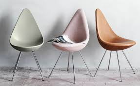 arne jacobsen furniture. Drop Chair Plastic Arne Jacobsen Furniture C