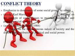 a skillful description of how the social conflict theory works appreciate the social conflict theory that campbell utilizes in her writing acircmiddot and by the 8223unequal distribution of power and resources in the society8223 knapp