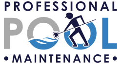pool cleaning logo. Professional Pool Maintenance Cleaning Logo A