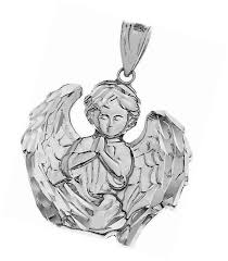 925 sterling silver guardian angel