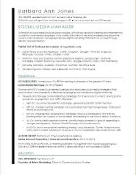 Social Media Manager Job Description Resume Best of Associate Media Director Cover Letter Sample Resume For A Social