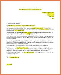 reference letter for tenant landlord reference letter for tenant