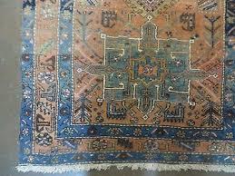 9 of 12 3 7 x 14 antique hand made persian karajeh heriz serapi wool rug