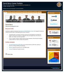 Web Portfolio Resume Portfolio Personal Website