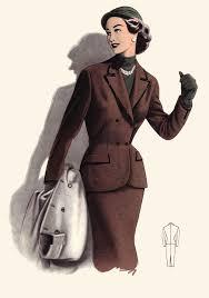 Мода и стиль х годов мода 50 х годов