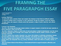 framing the five paragrapgh essay ppt video online  framing the five paragrapgh essay