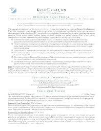 Sample Rn Cover Letters Resume Cover Letter Nurse Resume Resume