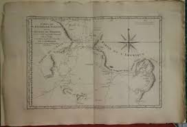 1857 Horsburgh Nautical Chart Or Map Of Singapore And The
