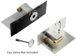 Solid Brass Gas Fireplace Log Lighter Kit With Valve  312Fireplace Key