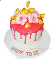 Bride To Be Cake With Roses 1kg Sri Lanka Online Shopping Site