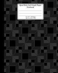 Quad Rule 5x5 Graph Paper Notebook 8