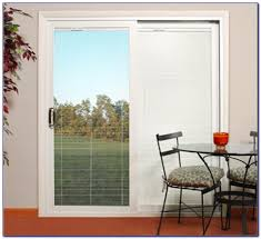 how install plantation shutters sliding doors panel track anderson with built blinds door tures ds for