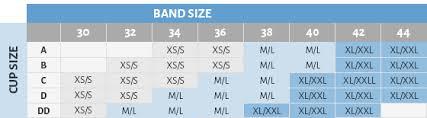 Zipper Size Chart Fresh Comfort Size Chart