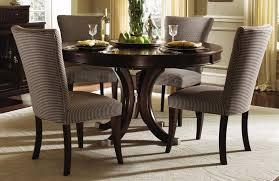 set round white elegant dining room design with round deep espresso open view larger