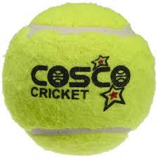 Cosco Light Weight Cricket Ball Cosco Light Weight Cricket Ball Pack Of 6 Yellow