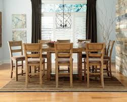 design ashley tamilo rectangle dining room krinden rectangular counter height extension dining room set from ashl