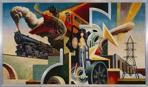 thomas hart bentons america today mural  essay  heilbrunn  america today