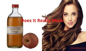 how to use vinegar to remove hair dye