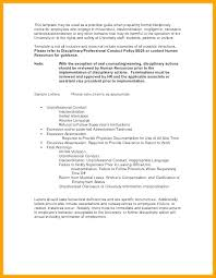Disciplinary Policy Template Discipline Form Employee