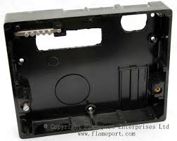 memera 3 four way plastic rewireable fusebox moulded plastic back of a memera 3 rewireable fusebox