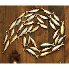 metal fish wall decor 200141 wall art at sportsman 039 s guide