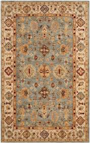 safavieh antiquity at847a blue ivory area rug
