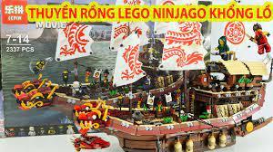 Lắp Ráp Đồ Chơi Lego Ninjago Khủng Nhất Trên Kênh Toy Channel - YouTube