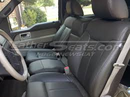 ford f single tone dark brown leather interior with ford f 150 lariat interior