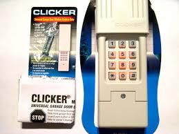 universal garage door opener remote. Clicker Garage Door Opener Keypad Universal Remote Clt1 Intended With N