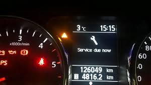 Nissan Qashqai Malfunction Warning Light Red Cant Reset Your Service Due Light In A Nissan Qashqai Check This Video Out For Help