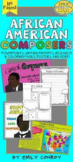 African American Composers Black History Month