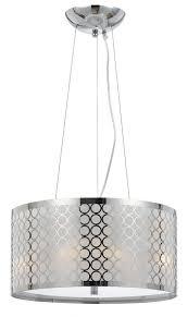medium size of chrome white metallic modern drum pendant light fixture lighting fixtures chandelier hanging lamp