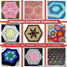 Hexagon Crochet Pattern Interesting Hexagon Crochet Patterns 48 Free Motif And Afghan Patterns To