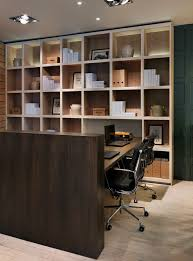 office shelving units. Inspired Cube Shelving Unit In Home Office Contemporary With Bookcase Lighting Next To Pony Wall Alongside Two Desks And Swivel Chairs Units C