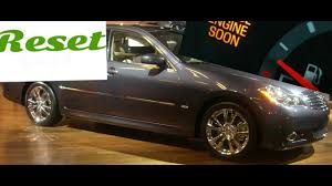 How To Reset Service Engine Soon Light On A 2008 Infiniti M45