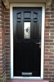 black front doorComposite Front Doors Supply And Fit  Door Design Ideas on