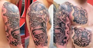 Tetování Westcoast Rukáv Tetování Tattoo