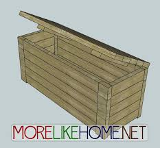 diy wood deck box. wooden outdoor storage chest plans diy blueprints step by learn how to make an box bench for your patio or diy wood deck