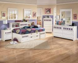 Bookcase Bedroom Furniture Signature Design By Ashley Zayley Full Bedside Bookcase Daybed